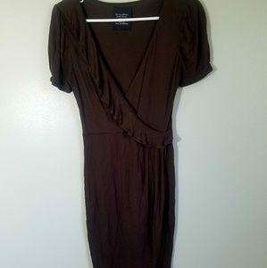 Zara Basic Evening Collection Medium Brown Dress